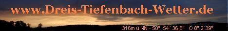 Dreis-Tiefenbach-Wetter
